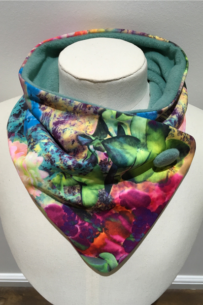 Bright Orchids Neckwarmer